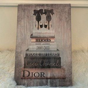 Hermès, Chanel, Dior & more Canvas wall art